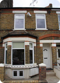 house in London with rooms to rent